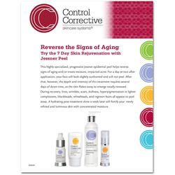 "Control Corrective - Counter Card 7 Day Deep Skin Rejuvenation with Jessner Peel 8.5"" x 11"""