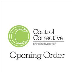 Control Corrective - Opening Order 3 Back Bar Only