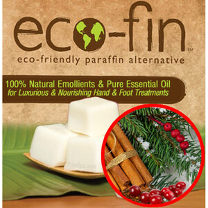 Eco-Fin™ Paraffin Alternative - Jubilee Berry Winter: Pine + Berries + Cedarwood + Rose + Cinnamon Blend 1 Lb. Tray of 40 Cubes