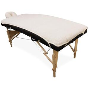 "Poly Fleece Massage Table Pad Set 33""W X 73""L"