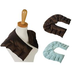 "Sposh Taffeta Herbal Shoulder Wrap - 28"" x 8.5"" Tapering to 5.75"" Available in Agate Blue and Java"