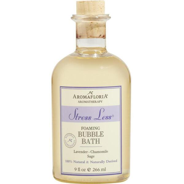 Aromafloria Stress Less Foaming Bubble Bath - Lavender Bubble Bath 9 oz. - 266 mL.