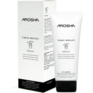 Arosha FIRMING Body Rescue - Restructuring Intensive Cream 200 mL. - 6.77 fl. oz. (N2416)