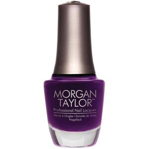 Morgan Taylor Nail Lacquer - Plum Tuckered Out (Plum Creme) 0.5 oz.