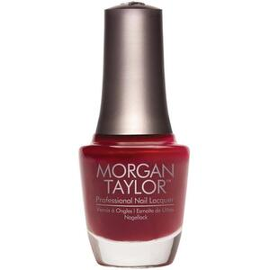 Morgan Taylor Nail Lacquer - A Touch Of Sass (Dark Red Creme) 0.5 oz.