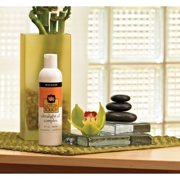 Lotus Touch UltraLight Massage Oil Complex 8 oz.