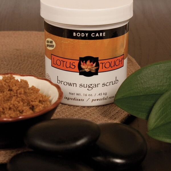 Lotus Touch Brown Sugar Scrub 16 oz. (LTBT5500)