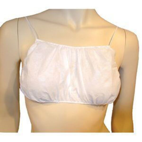 Disposable Backless Bra Small White 6 Count (