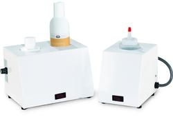 Powder-Coated White 2-Bottle Warmer (HUB2W)
