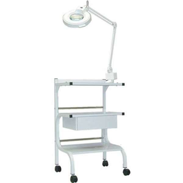 3 Shelf Trolley With Power Strip (271 0157)