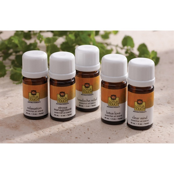 Lotus Touch Relaxation Essential Oil Kit (247 0321)
