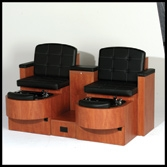 Belvedere Alexandria Pedicure Unit- Double Unit (B