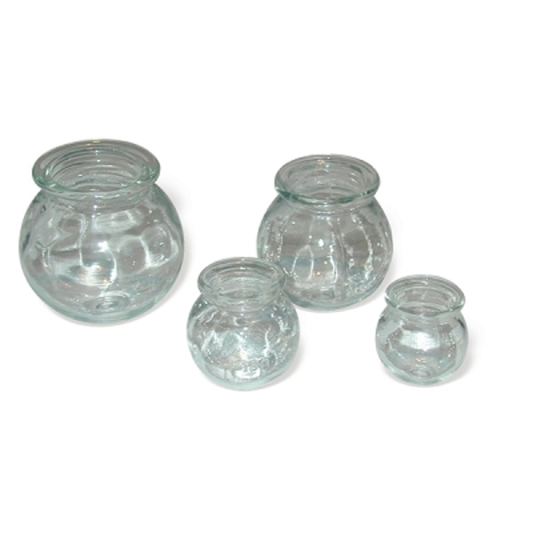 Cupping Jars Glass C-1 Set Of 4 (176 0050)