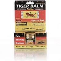 Tiger Balm Ultra Strength Non-stain .63 oz. (228 0