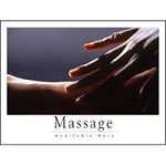 "Poster ""Massage Available Here"" Hands #3 (243 0059"