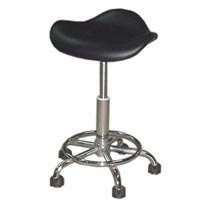 Deluxe Pneumatic Stool-black (264 0002)