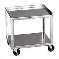 Stainless Steel Rolling Cart 2 Shelf (272 0012)
