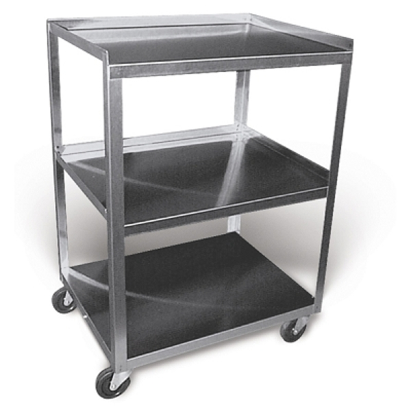 Stainless Steel Rolling Cart- 3 Shelf (272 0013)