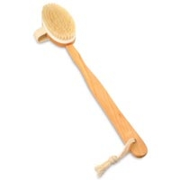 Long Handle Boar Brush with Removable Handle (283