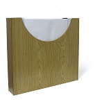Headrest Paper Dispenser Holds 12x12 Wood (283 01