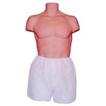 Men's White Disposable Boxers SM 6Package (351
