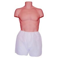 Men's White Disposable Boxers Xl Package6 (351 0