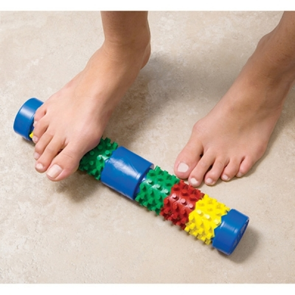Foot Log Roller With Card And Booklet (527 0175)