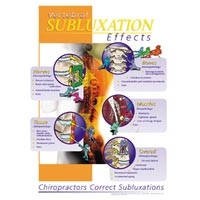 "Vertebral Subluxation Effects 18"" X 24"" Laminate ("