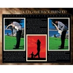 "Golf & Chiropractic Poster 22""X28"" Laminated (573"
