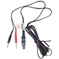 3rd Gen Tens Lead Wires Flat Pin To 2 Pins 2Pack