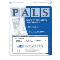 "Pals Platinum Oval Electrodes 1.5""X2.5"" Package4"