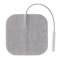 "Superior Silver 2"" Square Electrodes 4Package (67"