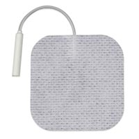 "First Choice Cloth Electrodes Pigtail 2""X2"" Sq (67"