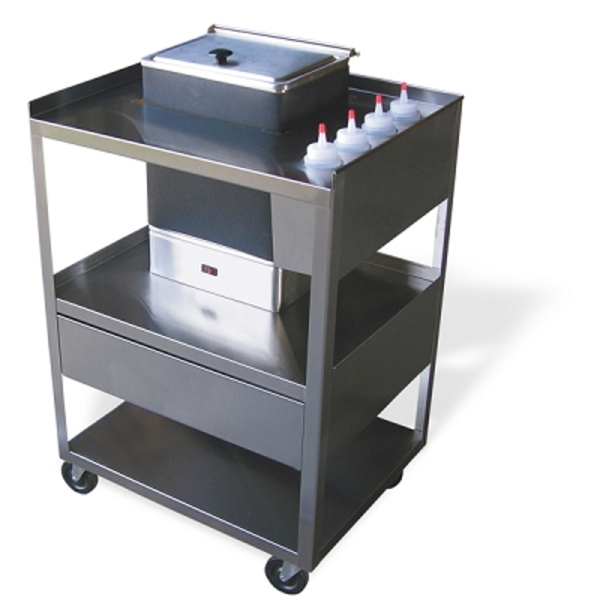 Service Center Cart with Drawers (675 0013)