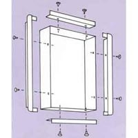 "Recess Kit For 29601 14"" X 17"" 1 Bank View Box (69"