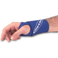 Nevin Single Wrist Wrap Black (705 0157)