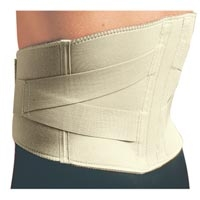 Thermoskin Back Support with Elastic Straps Large