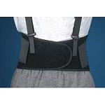 "Corbak Industrial Work Belt Black Small 22"" - 25"""