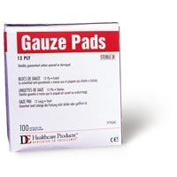 4'x4' Non-sterile Gauze Pads 12 Ply 200Box (764