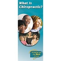 What Does A Chiropractor Do? Brochure 25Package (
