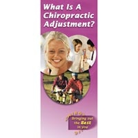 What Is A Chiropractic Adjustment? Brochure 25Pa