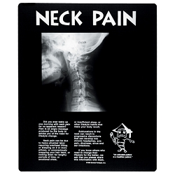 Normal Neck Pain X-Ray Film Picture (808 0046)