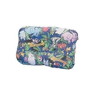 "Petite-core Jungle Print Support Pillow 19"" X 12"""