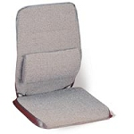 Sacro-ease Model Brsc Back Rest Gray (833 0128)