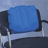 "Medic Air Back Pillow Blue 15"" X 18"" (833 0212)"