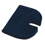 Relaxo-bak Deluxe Comfort Covered Cushion Dark Blu