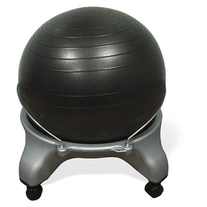Cando Exercise Ball Chair with Locking Castors (84
