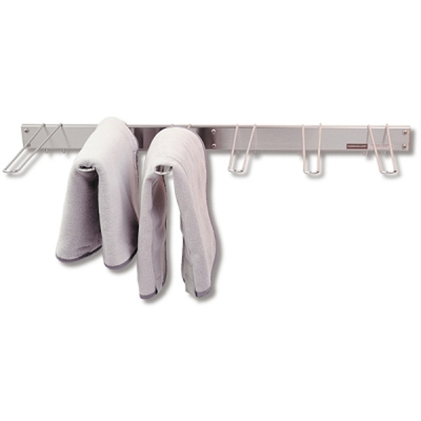 Wall Mounted Stainless Steel Drying Rack 6 Bracke