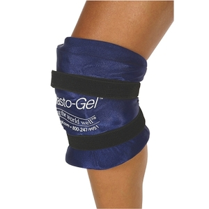 Elasto-gel Knee Wrap with Patella Hole - SmallMed