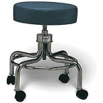 Galaxy Adjustable Exam Stool Burgundy (898 0085)
